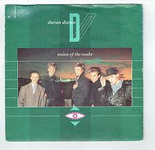 "DURAN DURAN 45T Disque SP 7"" UNION OF THE SNAKE - SECRET OKTOBER - EMI 1653857"