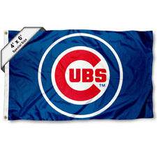 Chicago Cubs Big 4x6 Foot Flag