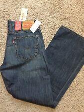 NWT Levis 527 Mens Slim Fit Boot Cut Levi's Jeans 30X32 $59
