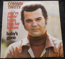 CONWAY TWITTY You've Never Been This Far Before LP