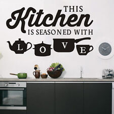 Kitchen Restaurant Kitchen Love Wall Art Stickers Decals Home Decor one
