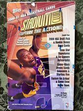 2000-2001 NBA Topps Stadium Club (Brand New, Loaded with Inserts) Kobe