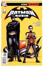 1)BATMAN AND ROBIN #1(8/09)1:MISTER TOAD/PROFESSOR PYG(FUTURE STATE)CGC IT(9.6)!
