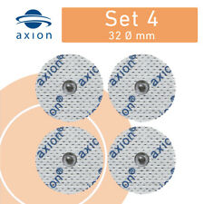 4x Elektroden Pads RUND 32mm für SANITAS SEM 40 42 43 44 & Beurer TENS EMS Gerät