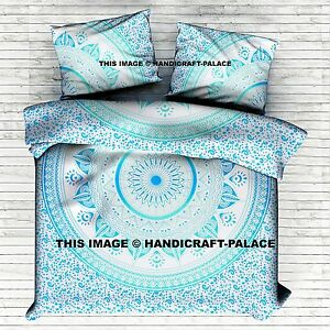 Indian Mandala King Size Bedding Set Bohemian Hippie Bed Sheet Bed Cover Throws