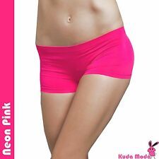 Hot Stretch Seamless Dance Exercise Booty Mini Panties Boy Shorts Brief Spankies