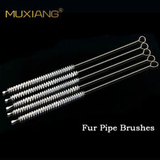 Lot 50 Pipe Cleaners Brush Tobacco Pipe Cleaning Nylon Brush Cleaner Steel Shank