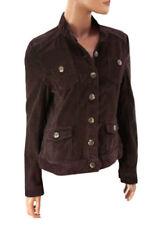 Cappotti e giacche da donna marrone in cotone taglia 44