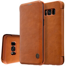 For Samsung Galaxy S8 Plus/S8 Slim Shockproof Flip Card Slot Wallet Leather Case