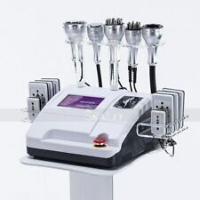 Upgraded 8 IN 1 40K RF lipo laser Fat burning Slimming Machine with best effects