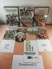 Medieval Total War Battle Collection + Viking Invasion PC - Near Mint & Complete