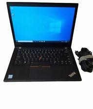 Lenovo ThinkPad T470 i5-7200U 2.50GHz 8GB Ram 256GB SSD Win 10 Pro#75