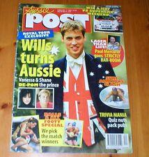 PRINCE WILLIAM Paul Mercurio Arthur Blanch AUSSIE POST magazine from Australia