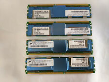 Lot of 4 x 371-2145 4GB Fully Buffered DIMM ( Tested w/ Warranty) Micron