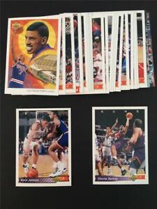 1992/93 Upper Deck Phoenix Suns Team Set 29 Cards