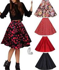 AU SELLER Vintage Retro 40s 50s PinUp Rockabilly Swing Midi Skirt Dress dr102