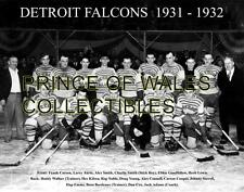 1932 DETROIT FALCONS TEAM PHOTO 8X10