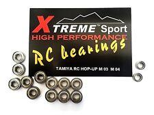 TAMIYA RC BEARINGS M-03 M 03 M-04 M 04  850 1150 BEARING KIT HOP UP SET