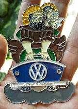 VINTAGE PLACCA BADGE St. Christopher LOGO VW PLAKETTE PART bus bug SALE classic