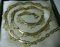 Vintage Jewellery Antique Art Deco ROLLED GOLD Gold Filled Signed SP NECKLACE