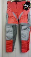 Klim Motorcross Enduro Trousers BNWT (Never Worn) 38 Waist/32 Leg Orange & Grey