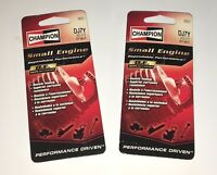 2 Champion DJ7Y Spark Plugs 855 Fits Many: Homelite/McCulloch Chainsaw & Trimmer