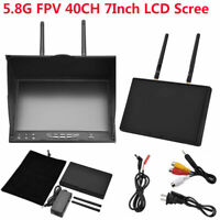 5.8G 40CH 7Inch LCD Screen Receiver Monitor RC Kits for FPV Drone Quadcopter#GD
