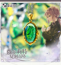 Anime   Violet Evergarden Pendant Necklace cosplay  925 Gift