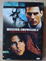 DVD - Mission Impossible - Tom Cruise - Teil 1 und 2
