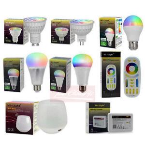 2.4G LED Bulb MR16 GU10 E14 E27 LED lamp smart wireless 6W 9W RGBCCT LED light