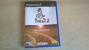 PARIS DAKAR 2 RALLY - PLAYSTATION PS2 GAME - FAST POST - ORIGINAL & COMPLETE