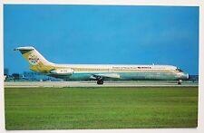 BWIA International Douglas DC-9-51 Postcard