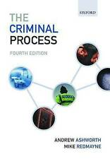 The Criminal Process by Mike Redmayne, Andrew Ashworth (Paperback, 2010)