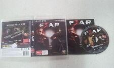 F.3.A.R F3AR (FEAR 3)  Sony PS3 Game