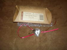 Longaberger Key To My Heart Basket Tie-On