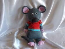 Doudou souris tout en tricot, 45 cm, Latitude