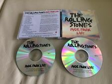 """Rolling Stones """"Hyde Park Live 2013"""" US Promo 2XCD"""