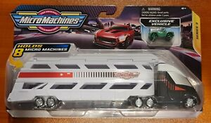 Micro Machines 2021 Series 3 Mini Vehicle Hauler With Exclusive Car Brand New