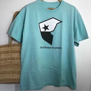 Famous Stars and Straps Family T-Shirt Baby Blue Mens XL The Choice is Yours
