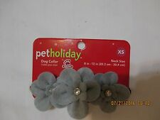 PET HOLIDAY new never used HOLIDAY dog collor  size XS 8-12 inches