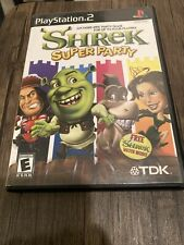 Shrek: Super Party (Sony PlayStation 2, 2002) Ps2