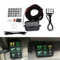 12V 6 LED Switch Panel Electronic Relay System Circuit Control Box For Auto Boat