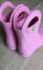 Crocs Gummistiefel Kinder Größe 27-28 Mädchen rosa