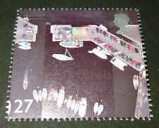 """2002 SG2268 27p Puerto """"Padstow, Cornwall"""" de """"Costa"""" conjunto menta británico"""