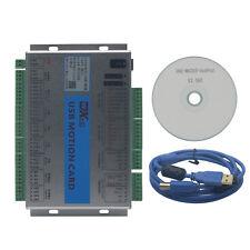 Upgrade Cnc Mach3 Usb 4 Axis Motion Control Card Breakout Board 2mhz Mk4 V
