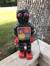 KO Vintage Toys Robot Tin Wind-up   Made In Japan