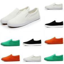 Multi Colors Mens Pumps Canvas Slip On Outdoor Loafers Casual Driving Shoes size