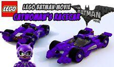 Custom Lego Batman Movie Catwoman's Racecar -- Instructions Only
