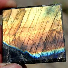 60g Natural  labradorite Quartz Crystal Pyramid Healing China  lJZT11