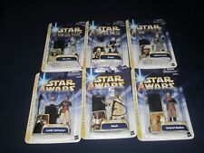 STAR WAS GENERAL MADINE, LANDO, 0ZZEL, DENGAR, BOSSK, & HAN SOLO ACTION FIGURES